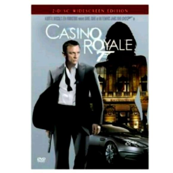 📀 Casino Royale 2disc widescreen edition